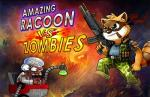 iOS игра Удивительный енот против зомби / Amazing raccoon vs zombies
