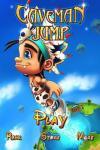 iOS игра Прыгающий пещерный человек / Caveman jump
