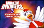 iOS игра Куриная Месть 3: Рождественский выпуск / Chicken Invaders 3 Revenge of the Yolk Christmas Edition