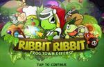 iOS игра Змеи против Лягушек / Defense Warrior RibbitRibbit Plus