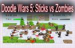 iOS игра Дудл войны 5: Стикмэны против Зомби / Doodle Wars 5: Sticks vs Zombies