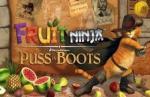 iOS игра Фруктовый ниндзя. Кот в сапогах / Fruit Ninja: Puss in Boots