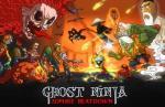 iOS игра Ниндзя призрак: Зомби подавление / Ghost Ninja: Zombie Beatdown