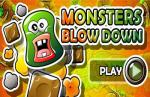 iOS игра Вырви монстра / Monsters Blow Down
