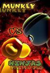 iOS игра Обезьянки против Ниндзя / Munkey vs Ninjas
