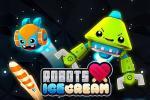 iOS игра Роботы любят мороженое / Robots love ice cream