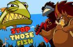 iOS игра Медведи-браконьеры / Stop Those Fish
