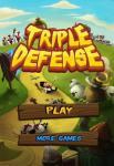 iOS игра Тройная защита / Triple Defense