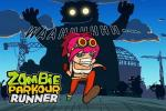 iOS игра Зомби: Паркур бегун / Zombie: Parkour runner