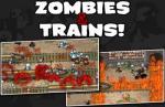 iOS игра Зомби и Поезда! / Zombies & Trains!